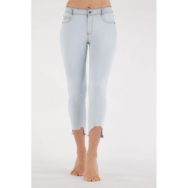 WR.UP® - Spodnie Skinny z niskim stanem w kolorze moro