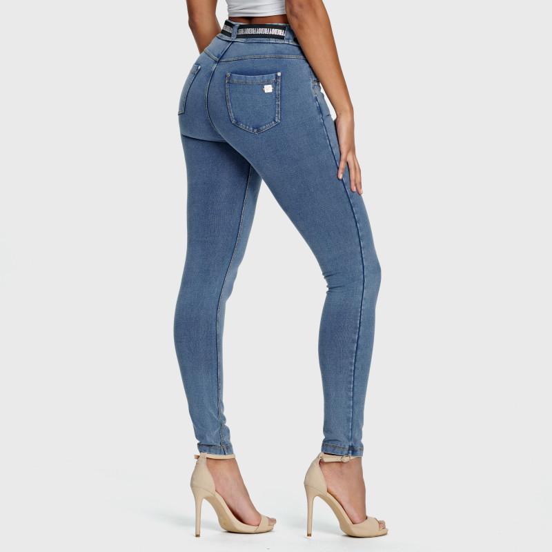 N.O.W.® Pants Denim - Skinny ze średnim stanem - J4Y