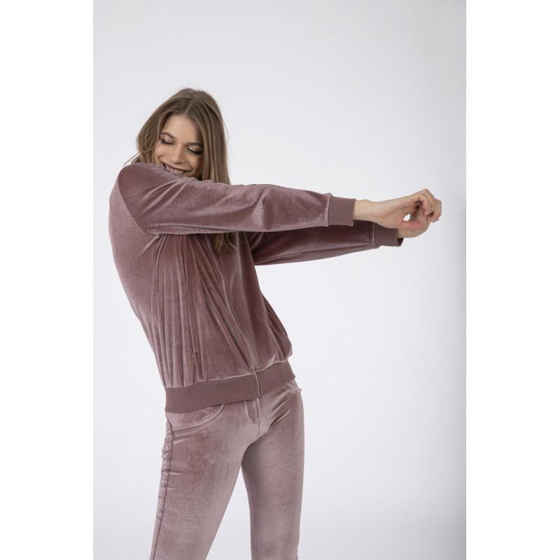 WR.UP® Denim - Spodnie Super Skinny z regularnym stanem w kolorze spranej szarości z żółtymi szwami