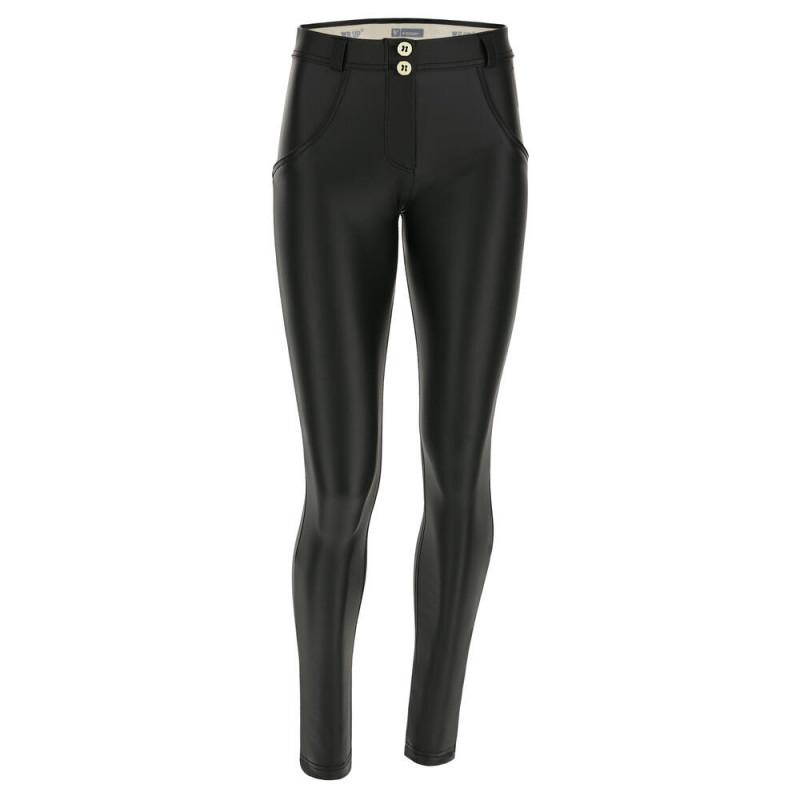 WR.UP® - Spodnie Skinny z regularnym stanem w kolorze moro