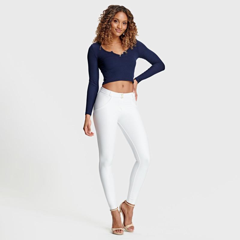 WR.UP® - Spodnie Regular Waist Skinny - Z64 - Light Beige