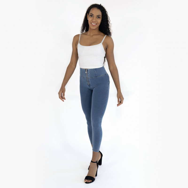 WR.UP® - Regular Waist Skinny - Special Jersey - Silver Filigree - G360