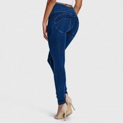 wr.up® shaping effect - regularny stan - skinny - efekt spranego jeansu