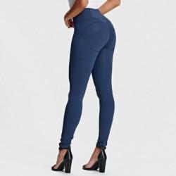 wr.up® regularny stan - spodenki - ciemny jeans