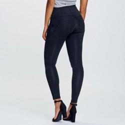 WR.UP® - Spodnie Skinny z regularnym stanem w kolorze jasnozielonym